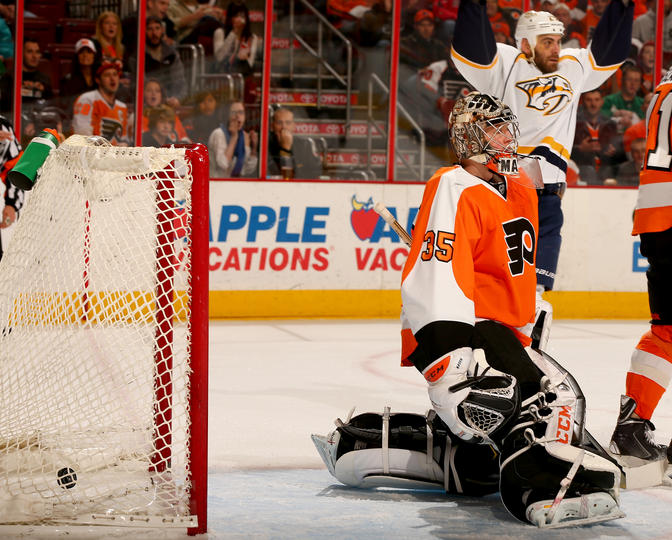 The Philadelphia Flyers got a game-tying goal late in the third period from  Wayne Simmonds a0cb655e3