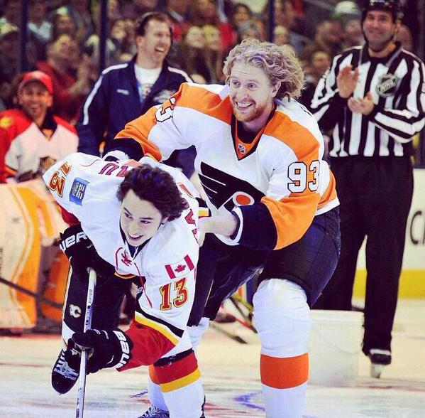 Voracek and Gaudreau